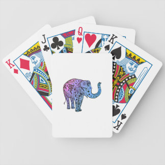 Psychedelic Groove Bicycle Playing Cards