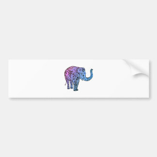 Psychedelic Groove Bumper Sticker