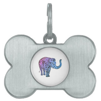Psychedelic Groove Pet ID Tag
