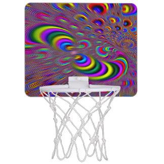 Psychedelic Groovy Hologram Element Mini Hoop