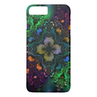 Psychedelic Grunge Fractal Pattern iPhone 7 Case