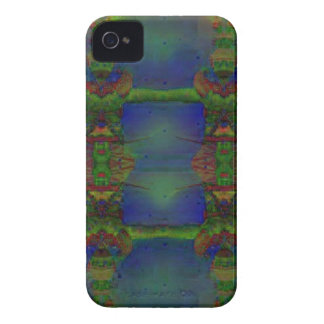 Psychedelic Guard iPhone 4 Cases