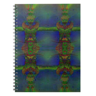 Psychedelic Guard Spiral Notebook
