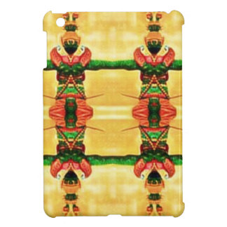 Psychedelic Guard Yellow Green Cover For The iPad Mini