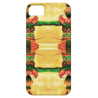 Psychedelic Guard Yellow Green iPhone 5 Cases