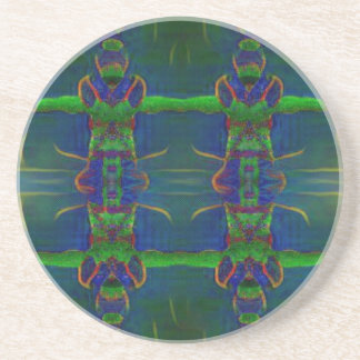 Psychedelic Guards Coaster
