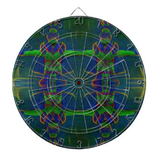 Psychedelic Guards Dartboard