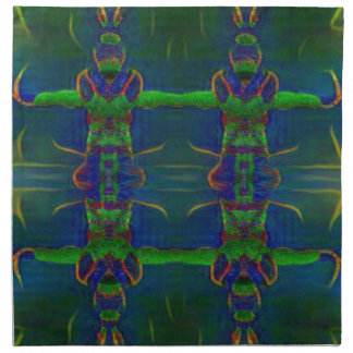 Psychedelic Guards Napkin