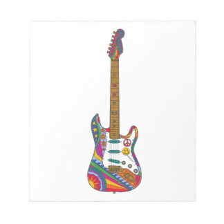Psychedelic Guitar Notepads