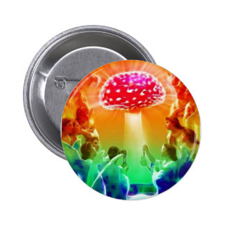 Psychedelic-Heaven 2 Inch Round Button