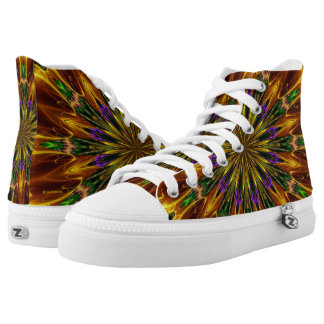 Psychedelic High tops Sneakers