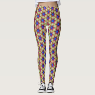 Psychedelic hippie leggings