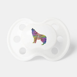 Psychedelic Howl Pacifier
