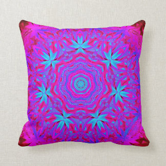 Psychedelic in Pink Decorative Pillow