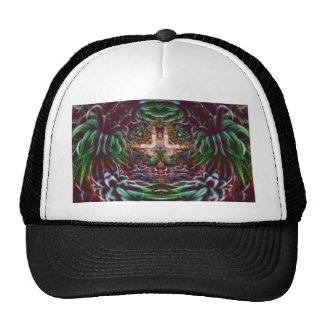 Psychedelic Into the Plant Trucker Hat