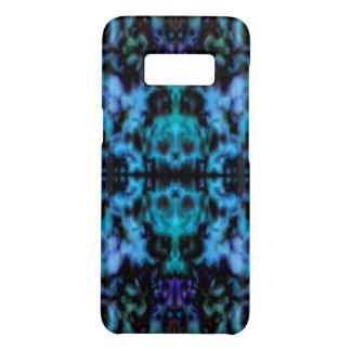 Psychedelic kaleidoscope skulls pattern Case-Mate samsung galaxy s8 case
