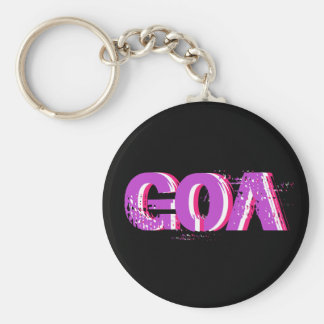 Psychedelic key-ring goa 2 keychain