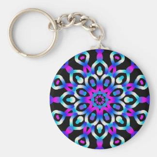 Psychedelic key-ring Vision Fractal Keychain
