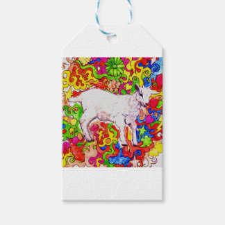 Psychedelic kid gift tags