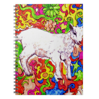 Psychedelic kid notebook