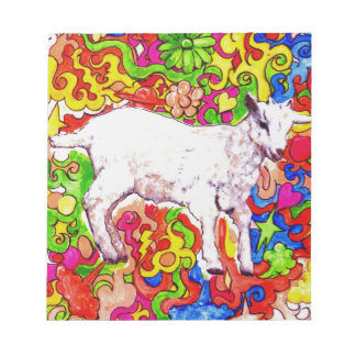 Psychedelic kid notepad