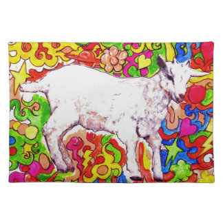 Psychedelic kid placemat