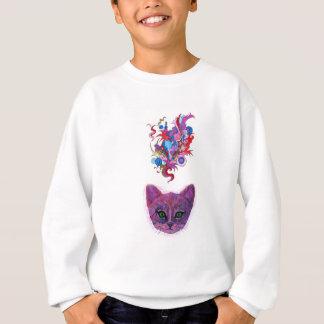 Psychedelic Kitten Sweatshirt
