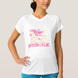 Psychedelic ladies top tee shirts