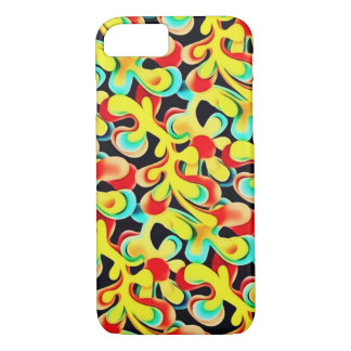 Psychedelic Leaves iPhone 7 Case