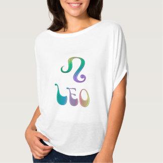 Psychedelic Leo Lady Zodiac Sign Astrology Shirt