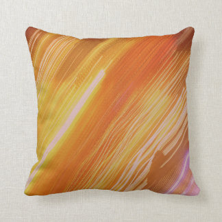 Psychedelic Lights Colours Throw Cushion
