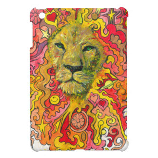 Psychedelic Lion iPad Mini Cover