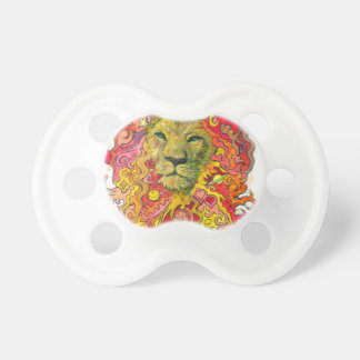 Psychedelic Lion Pacifier