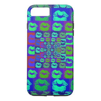 Psychedelic Lips iPhone 7 Plus Case