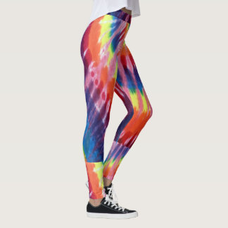 psychedelic love child leggings