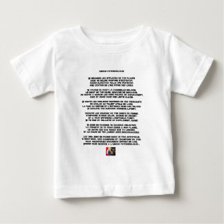Psychedelic love - Word games - François City Baby T-Shirt
