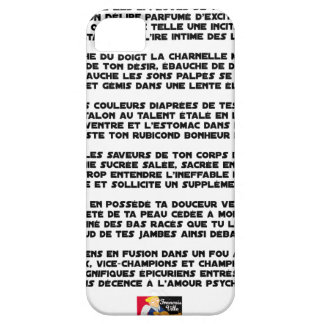 Psychedelic love - Word games - François City iPhone 5 Case
