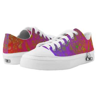 Psychedelic Low-Top Sneakers
