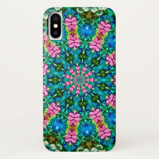 Psychedelic Magic Fairy Flower Ring Mandala Case