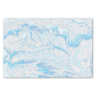Psychedelic marble paint retro tissue paper