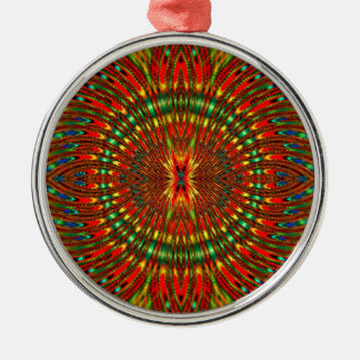 Psychedelic Metal Ornament