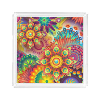 Psychedelic Mind Crush Serving Tray