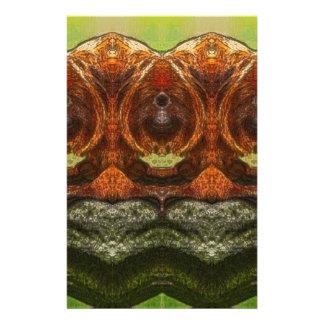 Psychedelic Monkey Stationery Design