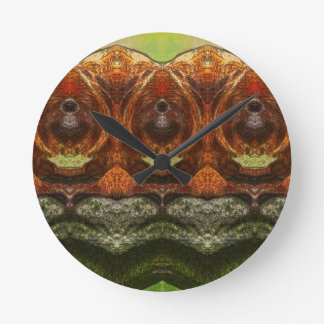 Psychedelic Monkey Wall Clock