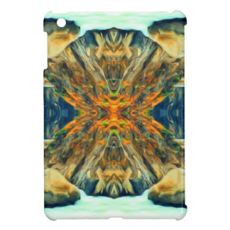 Psychedelic Mountain Range Painting Pattern Cover For The iPad Mini