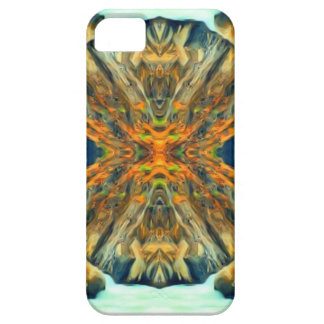 Psychedelic Mountain Range Painting Pattern iPhone 5 Case