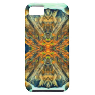 Psychedelic Mountain Range Painting Pattern iPhone 5 Cover