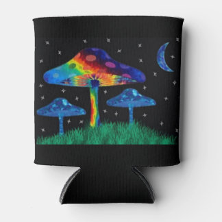 Psychedelic Mushroom Can Cooler