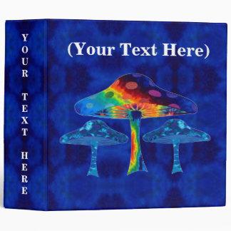 "Psychedelic Mushrooms 2"" Binder"
