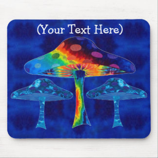 Psychedelic Mushrooms Mouse Pad